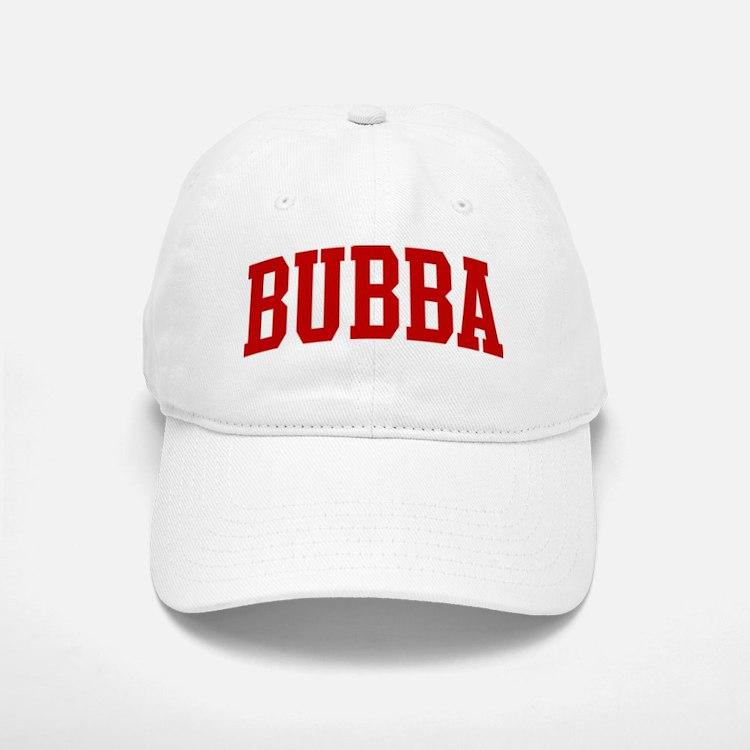 BUBBA (red) Baseball Baseball Cap