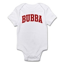BUBBA (red) Infant Bodysuit