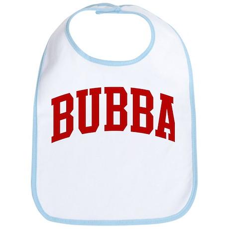 BUBBA (red) Bib