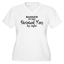 Banker Devoted Mom T-Shirt