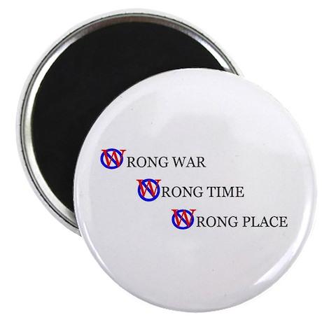 Wrong War Magnet