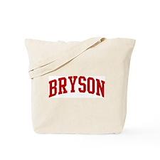 BRYSON (red) Tote Bag