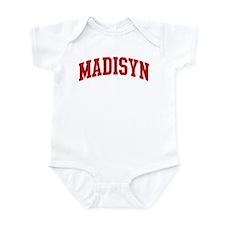 MADISYN (red) Infant Bodysuit