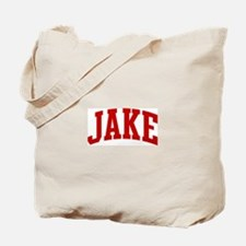 JAKE (red) Tote Bag
