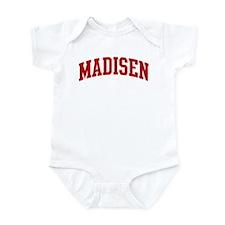 MADISEN (red) Infant Bodysuit