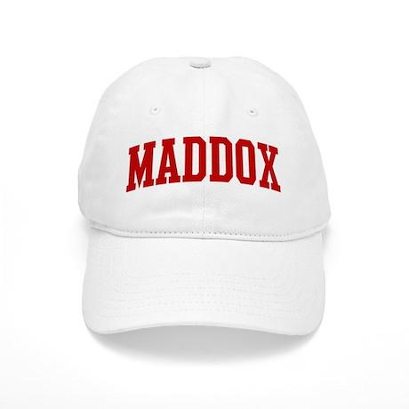MADDOX (red) Cap