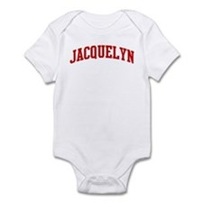 JACQUELYN (red) Onesie