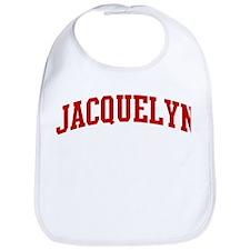 JACQUELYN (red) Bib
