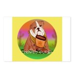 Howdy Dude English Bully Postcards (Package of 8)