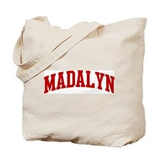 MADALYN (red) Tote Bag