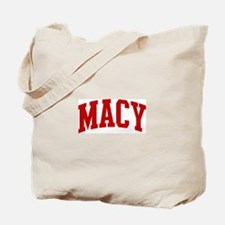 MACY (red) Tote Bag