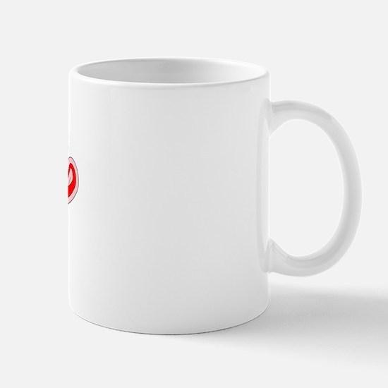 Retro Ruby (Red) Mug