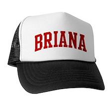 BRIANA (red) Trucker Hat