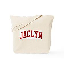 JACLYN (red) Tote Bag