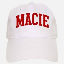 MACIE (red) Baseball Baseball Cap