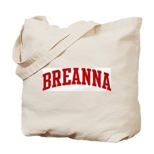 BREANNA (red) Tote Bag