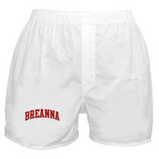 BREANNA (red) Boxer Shorts