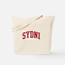 SYDNI (red) Tote Bag