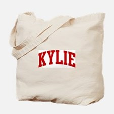 KYLIE (red) Tote Bag