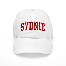 SYDNIE (red) Baseball Cap
