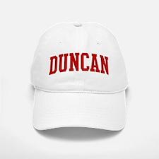 DUNCAN (red) Baseball Baseball Cap