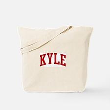KYLE (red) Tote Bag