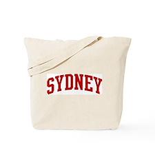 SYDNEY (red) Tote Bag