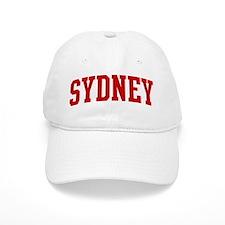 SYDNEY (red) Cap