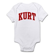 KURT (red) Infant Bodysuit