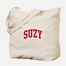 SUZY (red) Tote Bag