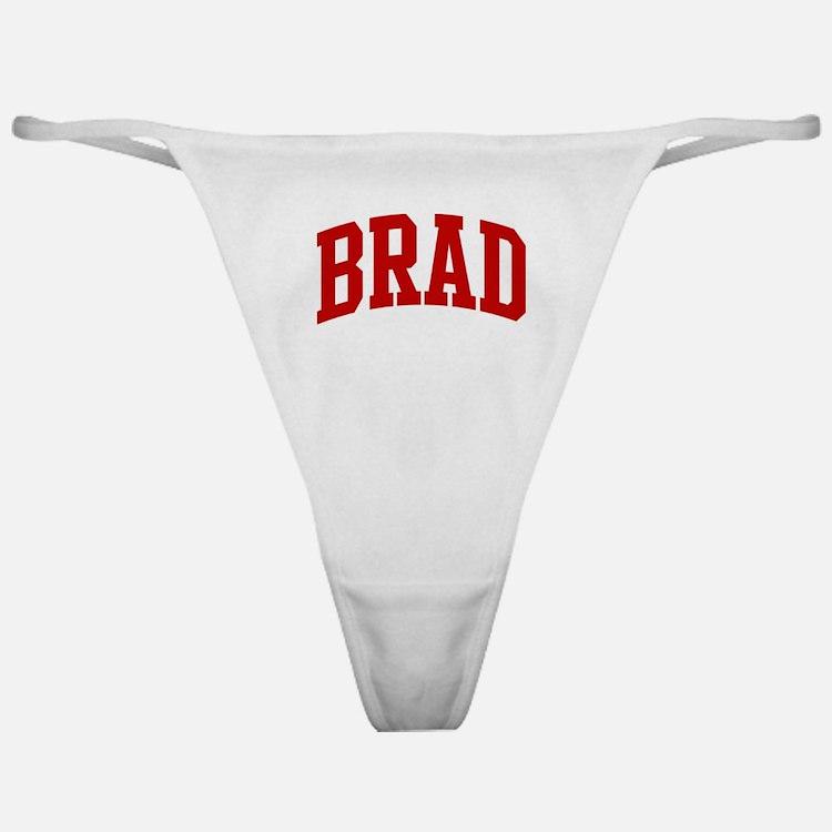 BRAD (red) Classic Thong