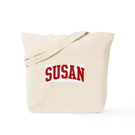 SUSAN (red) Tote Bag