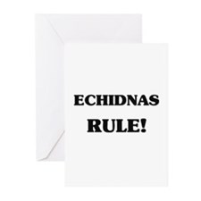 Echidnas Rule Greeting Cards (Pk of 10)