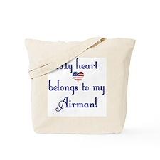 Heart Belongs 2 Canvas Tote Bag (AF)