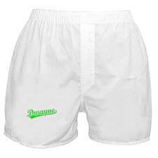 Retro Dwayne (Green) Boxer Shorts