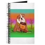 Cute English Bulldog Design Journal