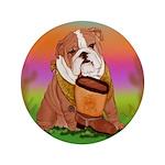 Cute English Bulldog Design 3.5
