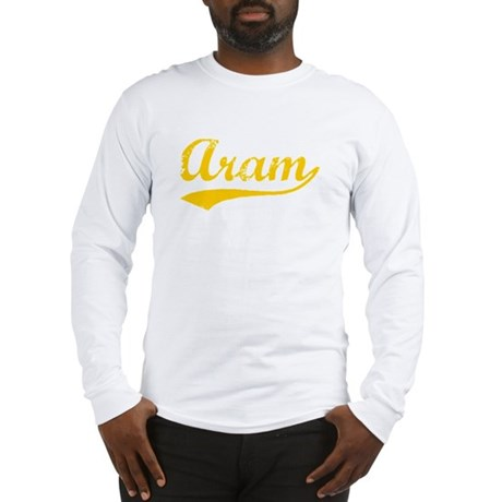 Vintage Aram (Orange) Long Sleeve T-Shirt