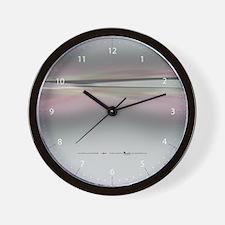 Zip + Zen in Rose Wall Clock