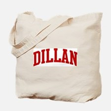 DILLAN (red) Tote Bag