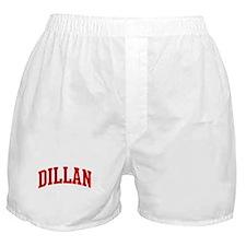 DILLAN (red) Boxer Shorts