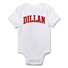 DILLAN (red) Infant Bodysuit