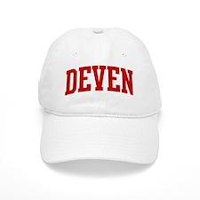 DEVEN (red) Baseball Cap