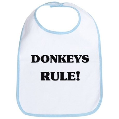 Donkeys Rule Bib