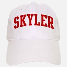 SKYLER (red) Baseball Baseball Cap