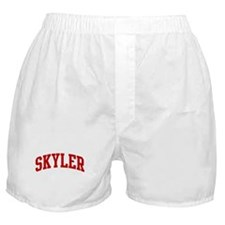 SKYLER (red) Boxer Shorts