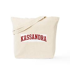 KASSANDRA (red) Tote Bag