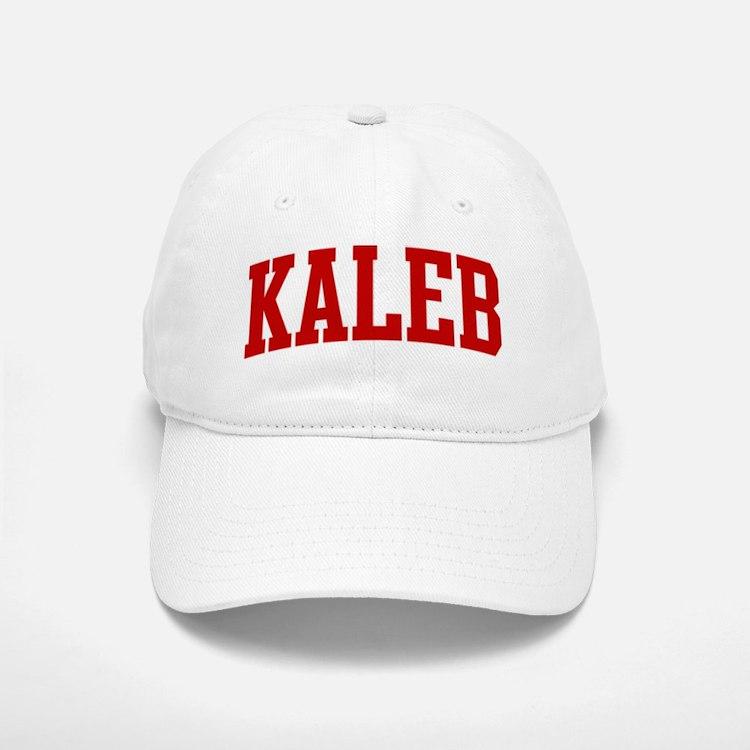 KALEB (red) Baseball Baseball Cap