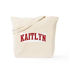 KAITLYN (red) Tote Bag