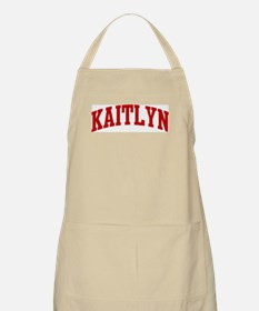KAITLYN (red) BBQ Apron